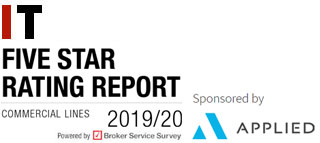 Five Star ratings report | Commercial Lines 2019/20 | Insurer experience rated by brokers, Powered by Broker Service Survey | Insurance Times