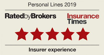 Five stars | Insurer experience | Rated by bokers